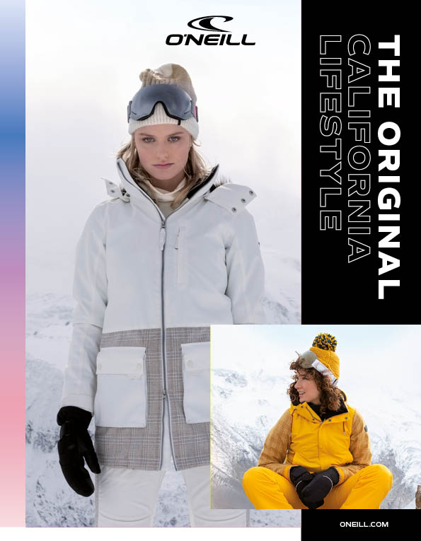 100 O'Neill mens and womens outerwear