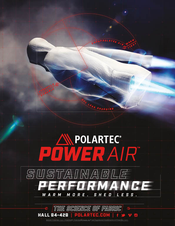100 Polartec mens and womens outerwear