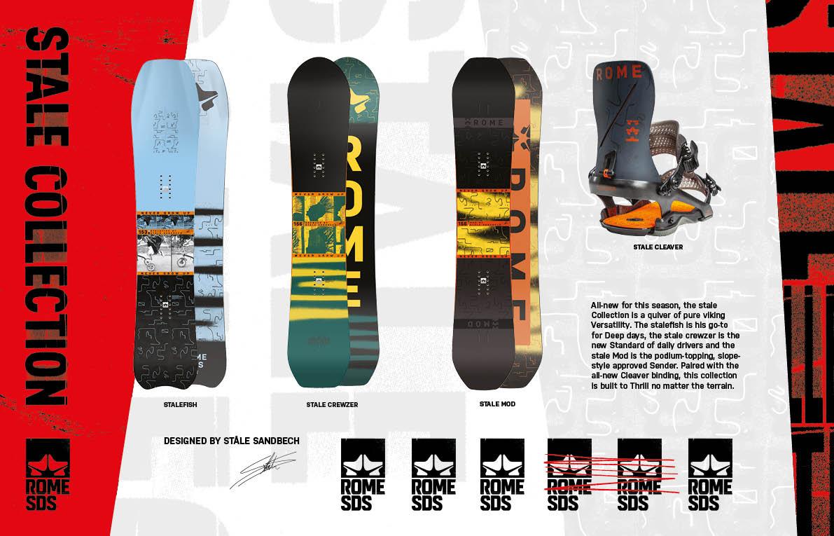 100 rome snowboards