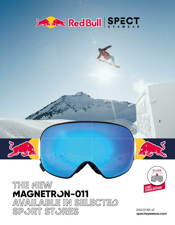 100 Red Bull Spect goggles