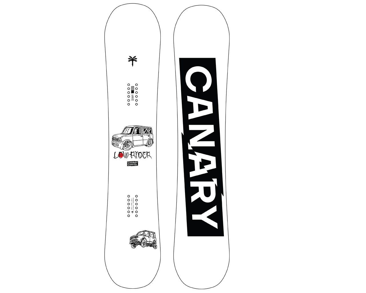 Canary Cartel FW20/21 Snowboard Preview