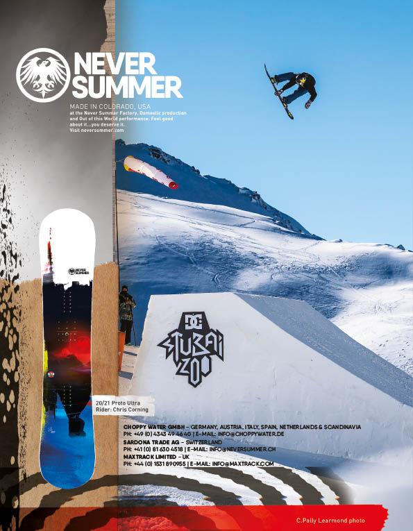 100 Never Summer snowboards