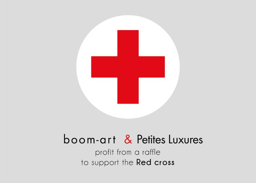 boom-art & Petites Luxures and Red Cross