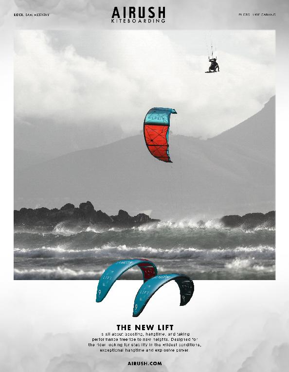 101 Airush kites