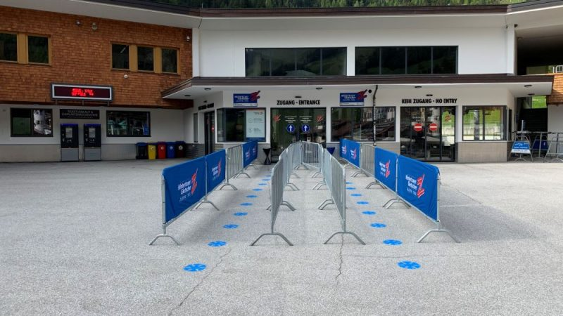 Hintertux, Austria Entrance