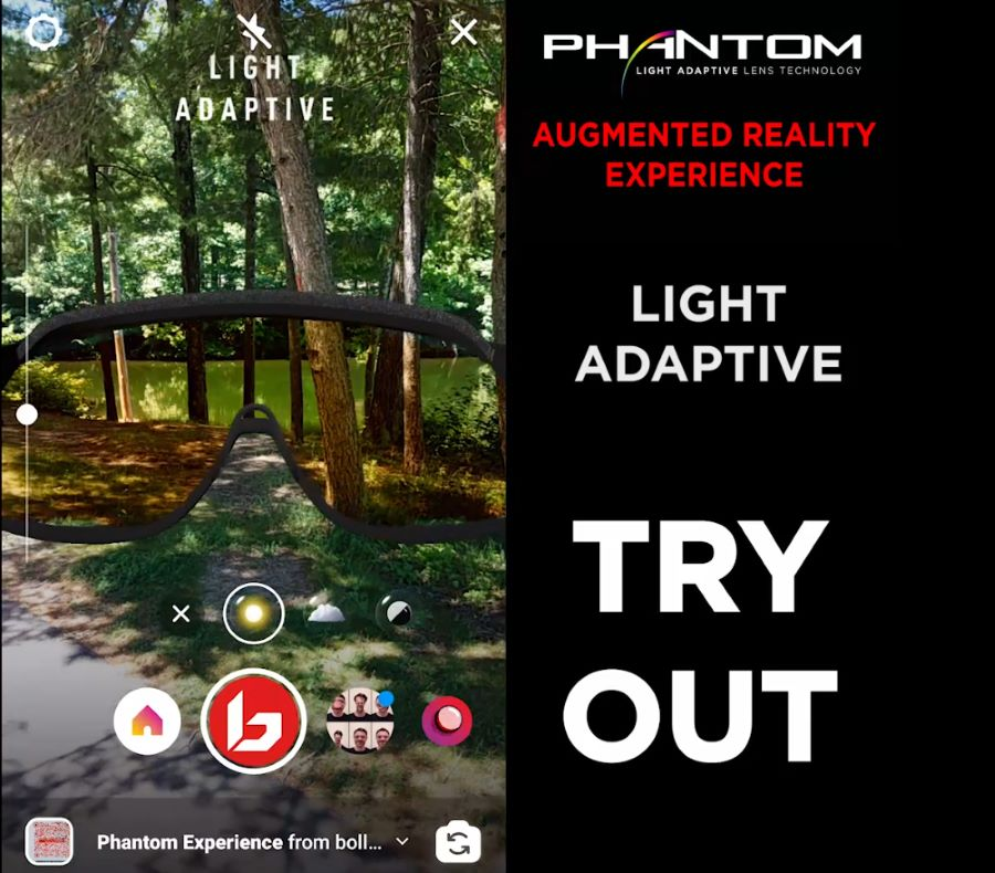 Phantom Try Out experience