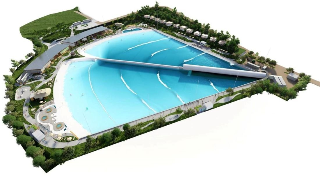 Cold Climate Standard Facility Render - Photo credit Wavegarden