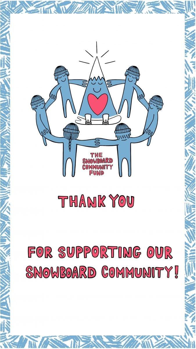 Snowboard Community Fund