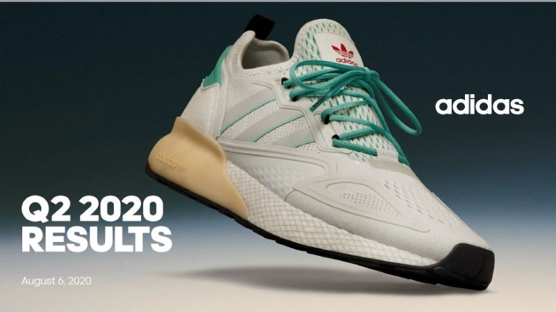 Adidas Q2 results