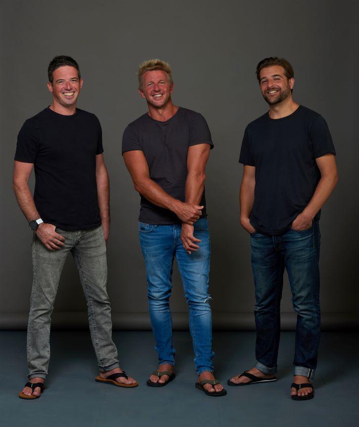 FoamLife Founders: Daniel Macaulay, Timo Mullen, and Karl Read