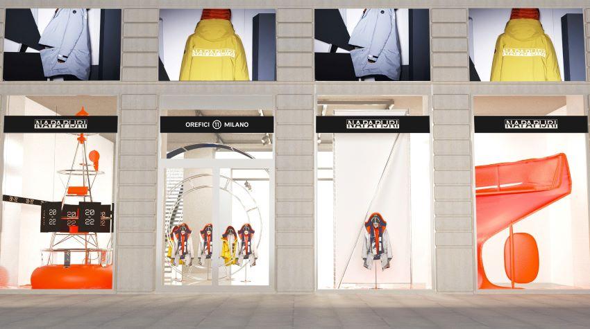 Milan shop front