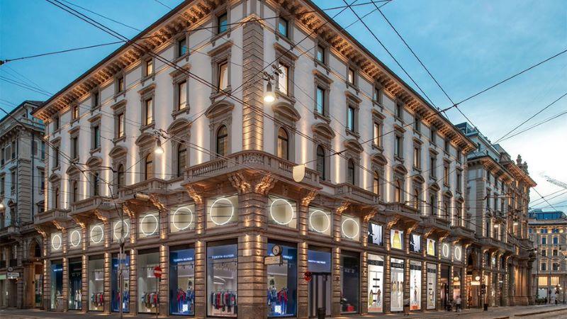 Multi-brand store in Milan