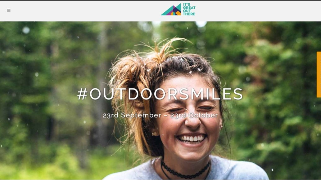 It's Great Out There Coalition launches outdoorsmiles competition - photo by Jamie Brown on Unsplash[2319]