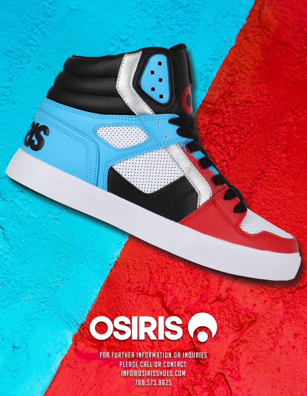 102 OSIRIS SKATE SHOES