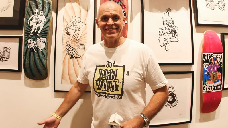 Steve Douglas. Rolling Thunder. BoardSport SOURCE
