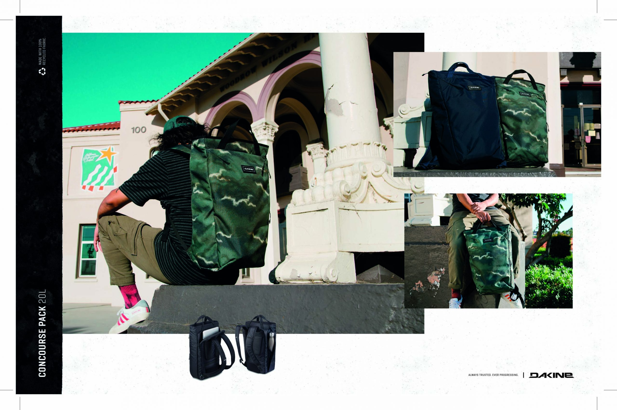 102 DAKINE BACKPACKS/BOARDSHORTS