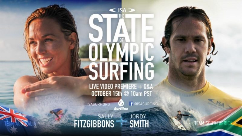 ISA State of Olympic Surfing
