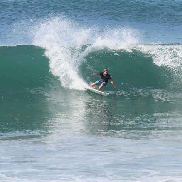 Pro Surfer Simon Nicholson