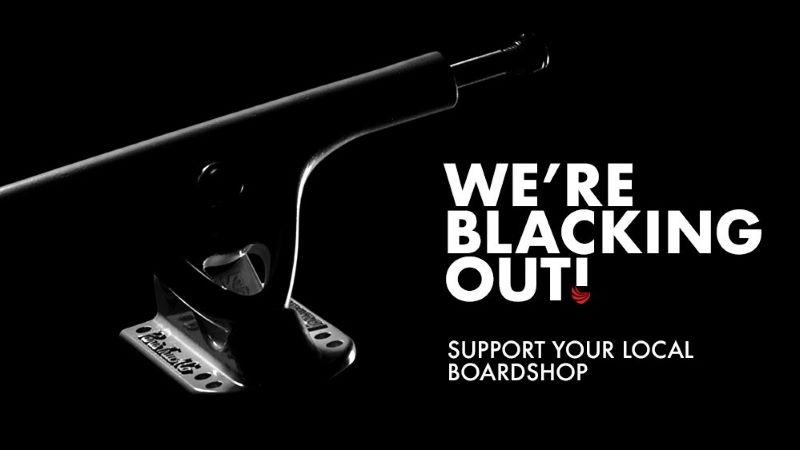 'Black Out' Friday Paris Truck Co