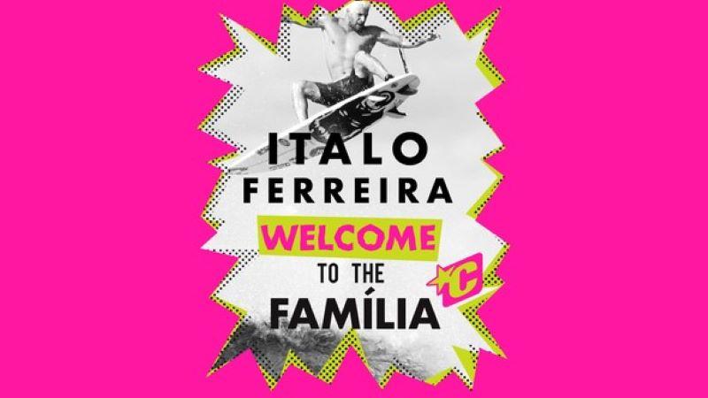 Italo Ferreira joins Creatures of Leisure