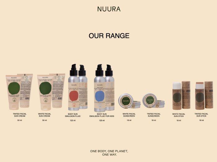 NUURA Product Range