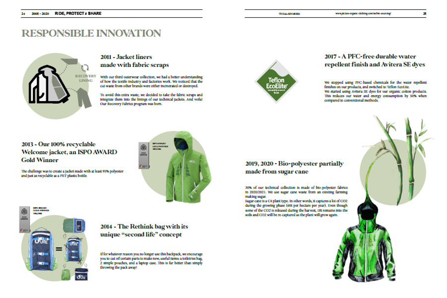 Picture key innovations along the way