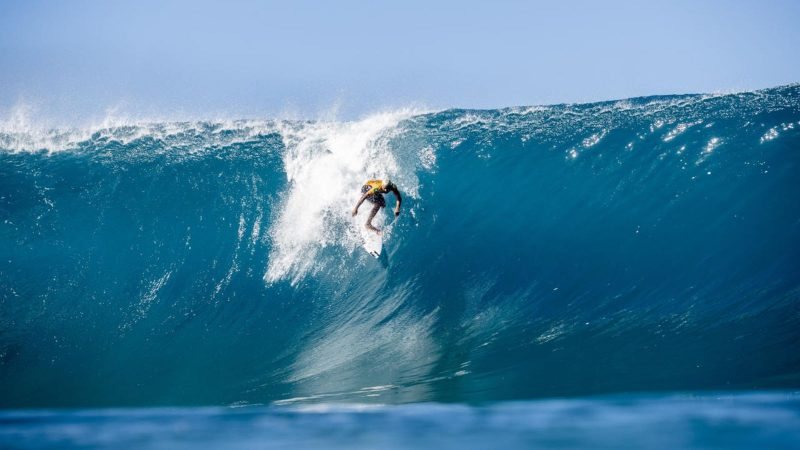 The men's 2021 season fronted by World Champ Italo Ferreira is set to kick off December 8th with the Billabong Pipe Masters presented by Hydro Flask. Photo credit WSL  KELLY CESTARI