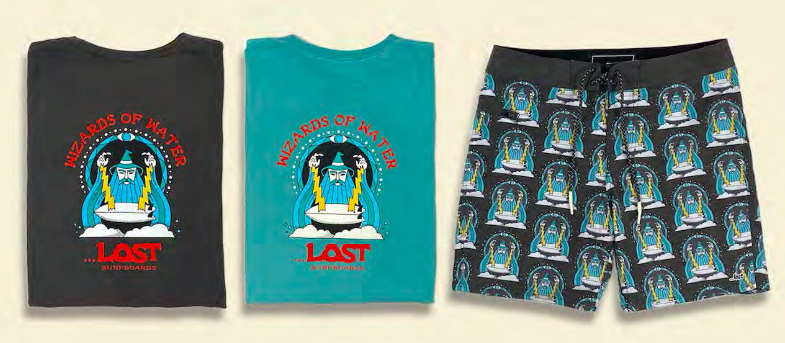 Lost SS21 Men's Surf Apparel Preview