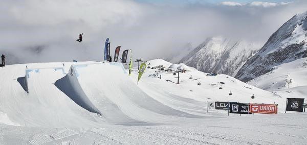 World Rookie Tour Snowboard Finals Kitzsteinhorn, Zell am See-Kaprun Snowpark