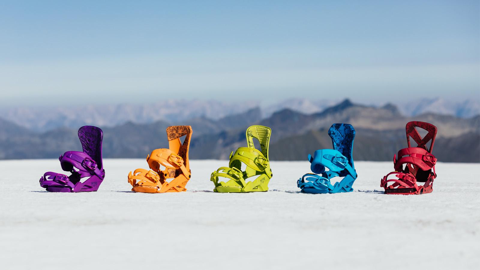Nitro 21/22 Snowboard Bindings Preview