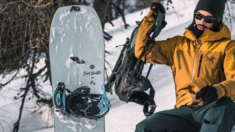 Amplid 21/22 Splitboard Hardgoods Preview