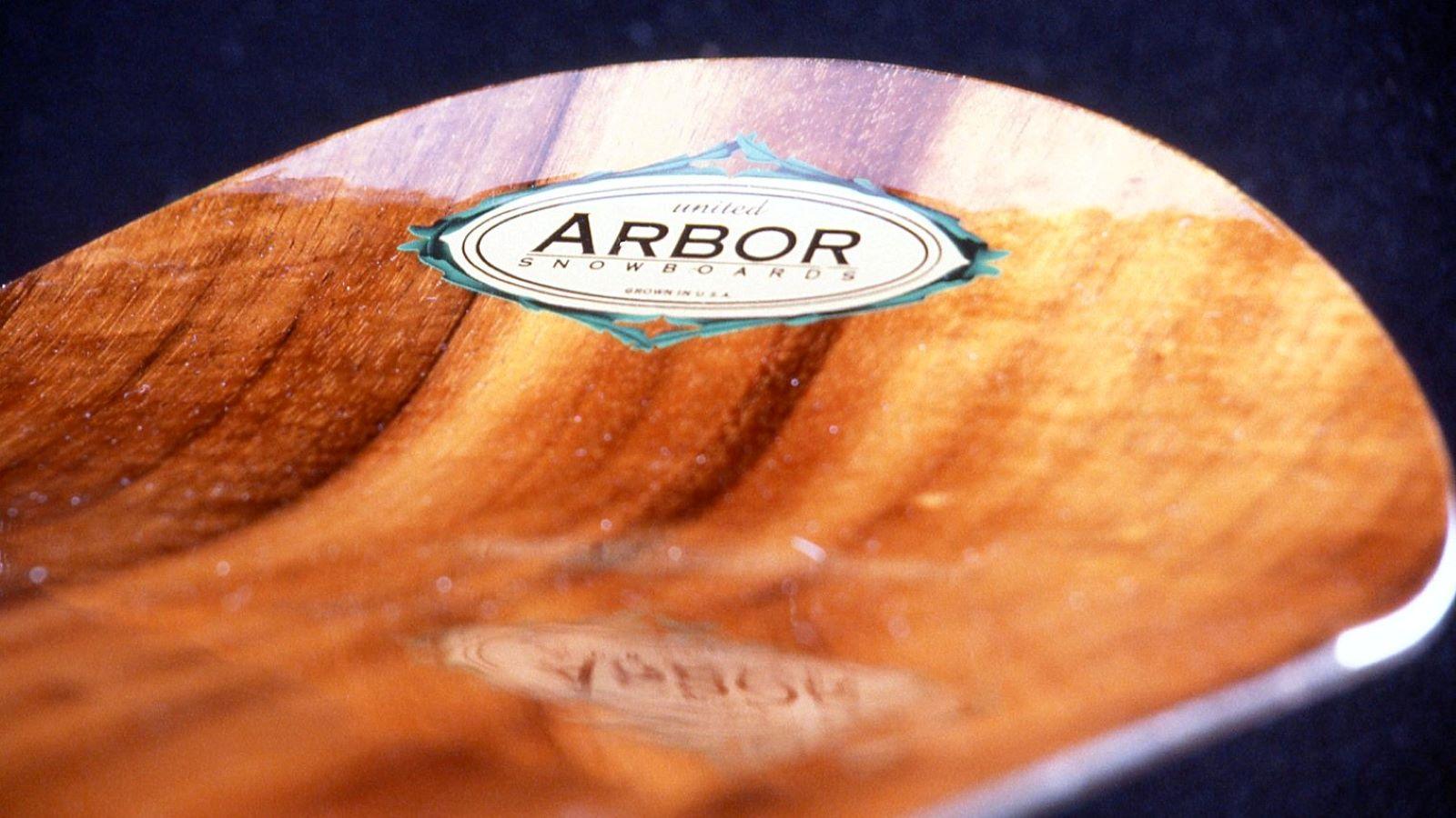 Arbor 1995, First Snowboard