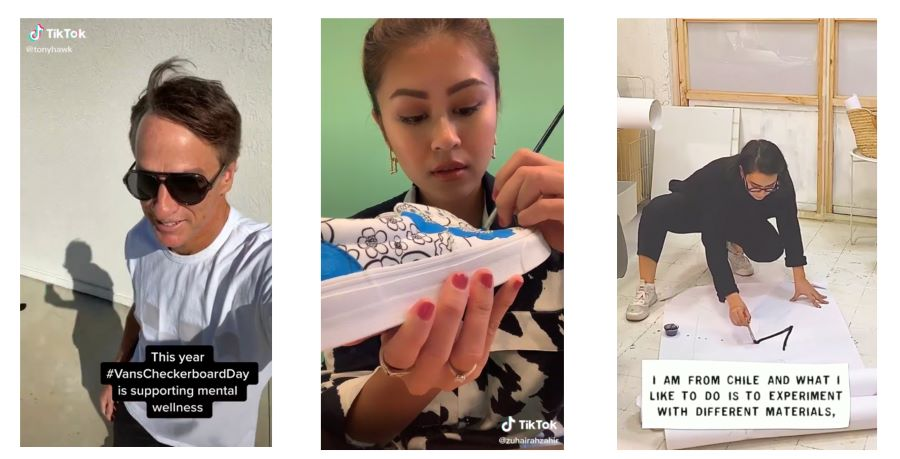 Vans brand ambassadors Tony Hawk, Yaya Zahir and Catalina Bu share how they use their own forms of creative self-expression to address mental health and well-being