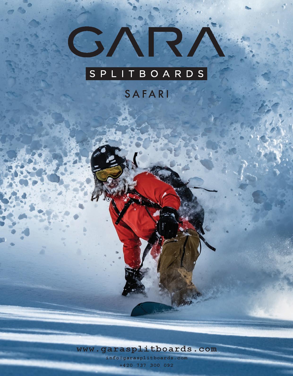 104 gara splitboards