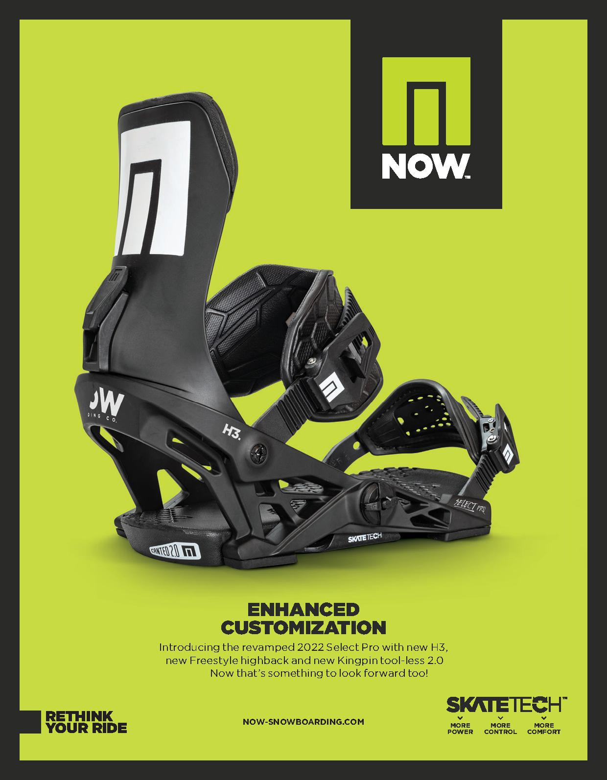 104 Now snowboard bindings