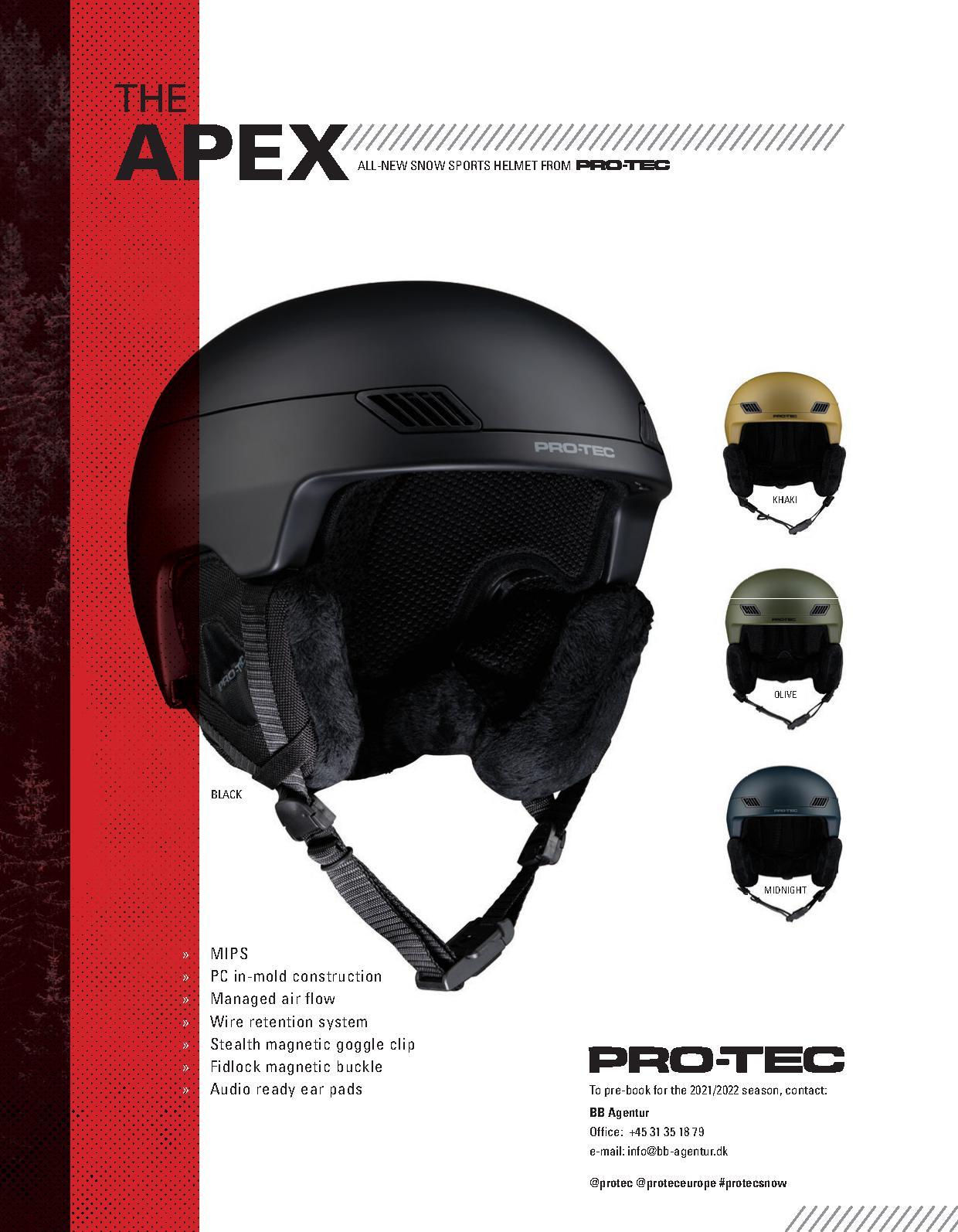 104 Protec snow helmets