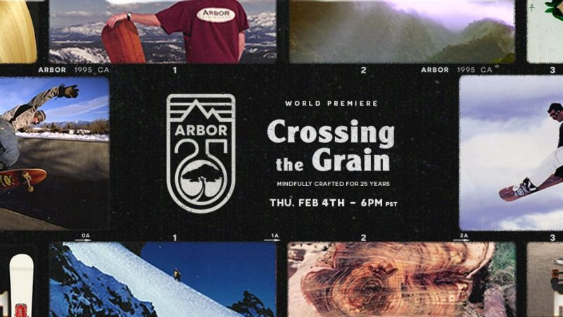 Crossing the grain Arbor 25