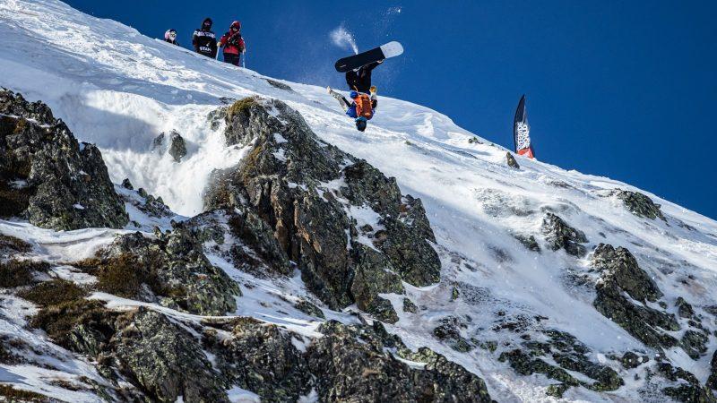 Blake Moller 2nd Snowboard Men_@Freeride World Tour_ Dominique Daher
