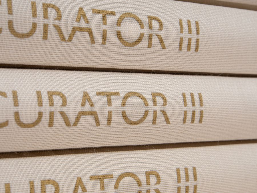 CURATOR III spine