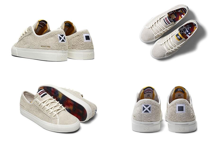 DC x Magenta Shoes