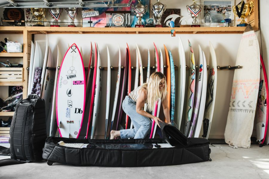 Db surf bag, photo by Alana Spencer