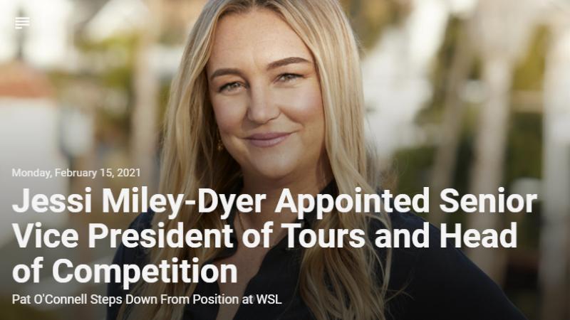 Jessi Miley-Dyer, Senior VP