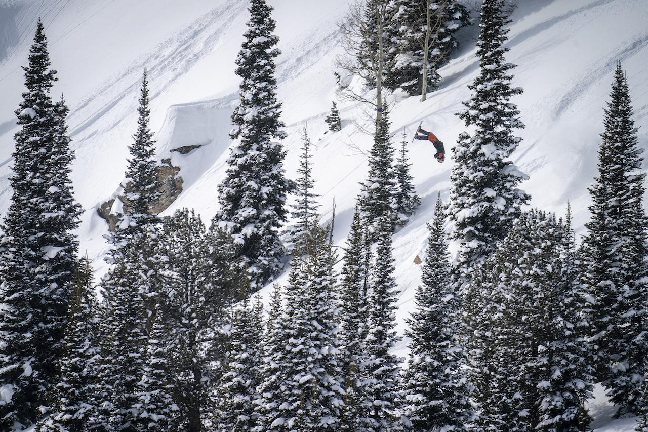 Natural Selection and Red Bull Content Pool - Travis Rice. Photo Ben Gavelda, @bengavelda