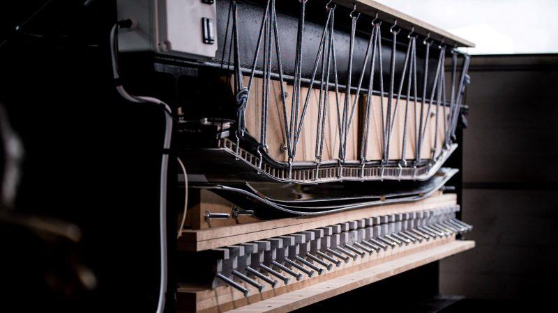 The press, one of the Lab's custom machines - Credit_ MVD Media