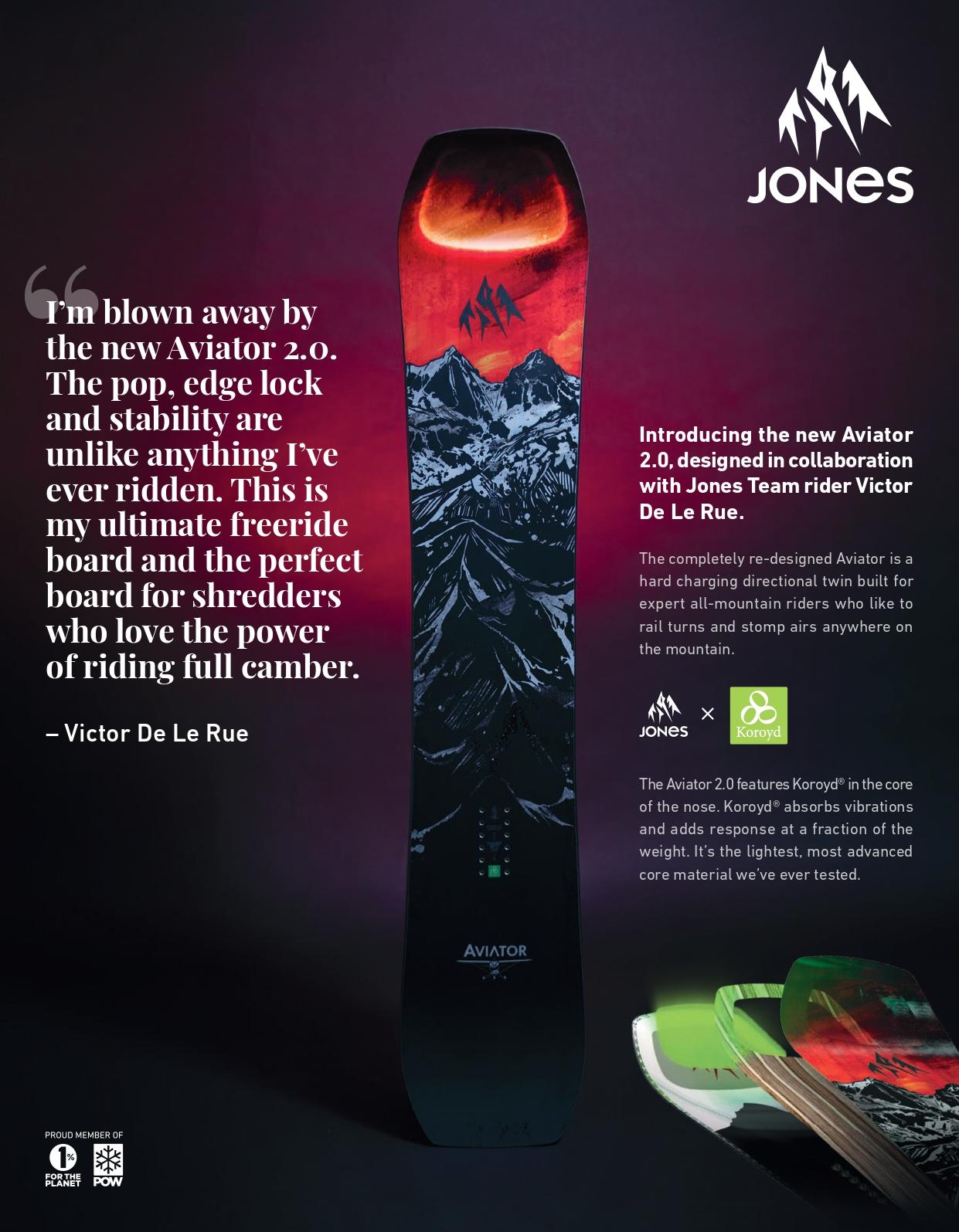 105 jones snowboards