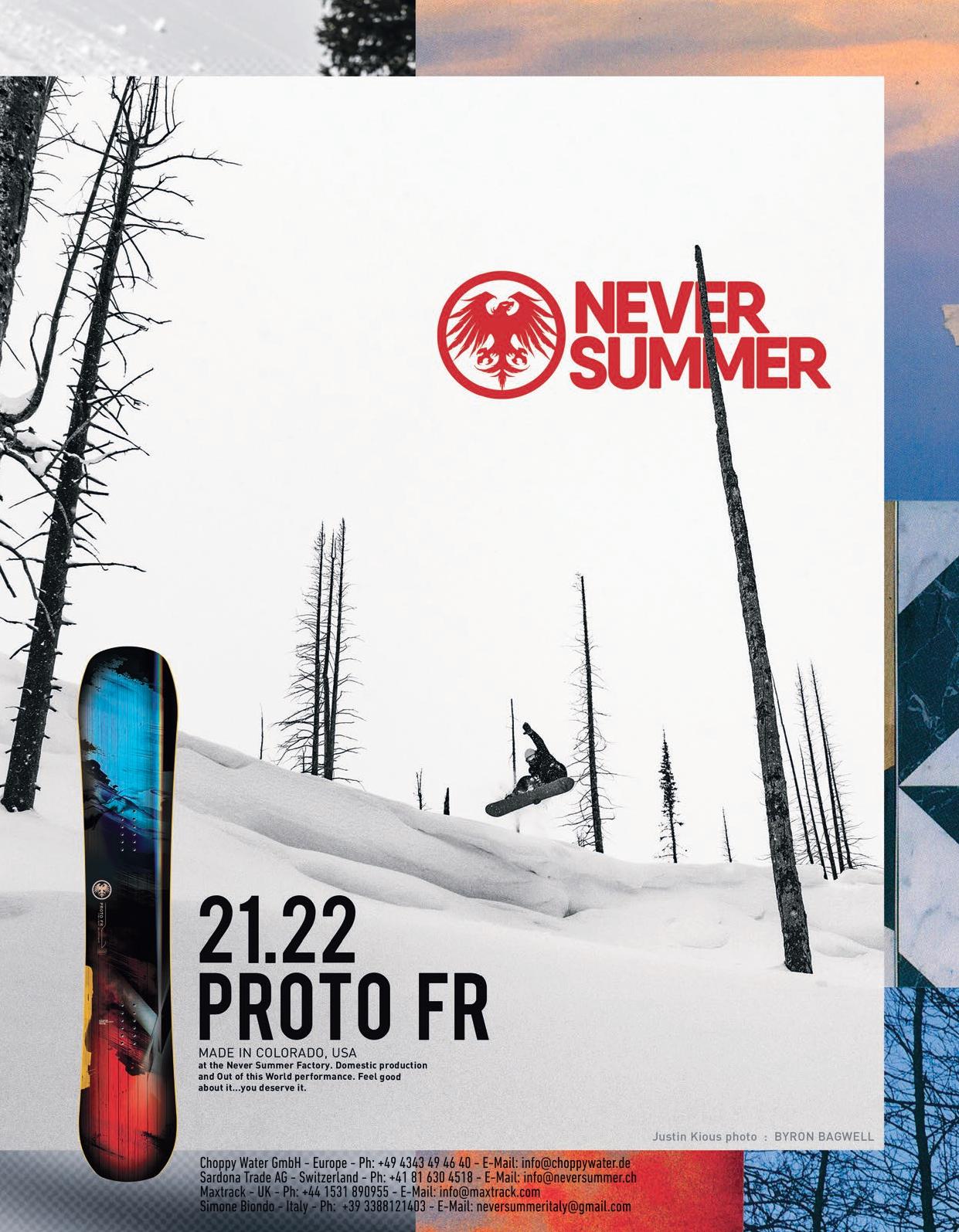 105 never summer snowboards