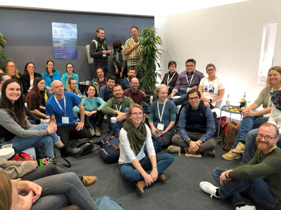 An EOG CSR meet and greet lunch during ISPO Munich 2020