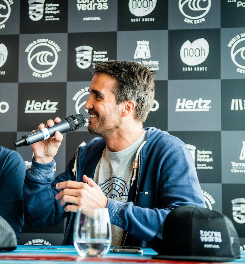 Francisco Spinola at the 2019 Pro Santa Cruz (QS 3,000)© WSL : Pedro Mestre