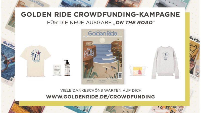 Golden Ride mag Crowdfunding