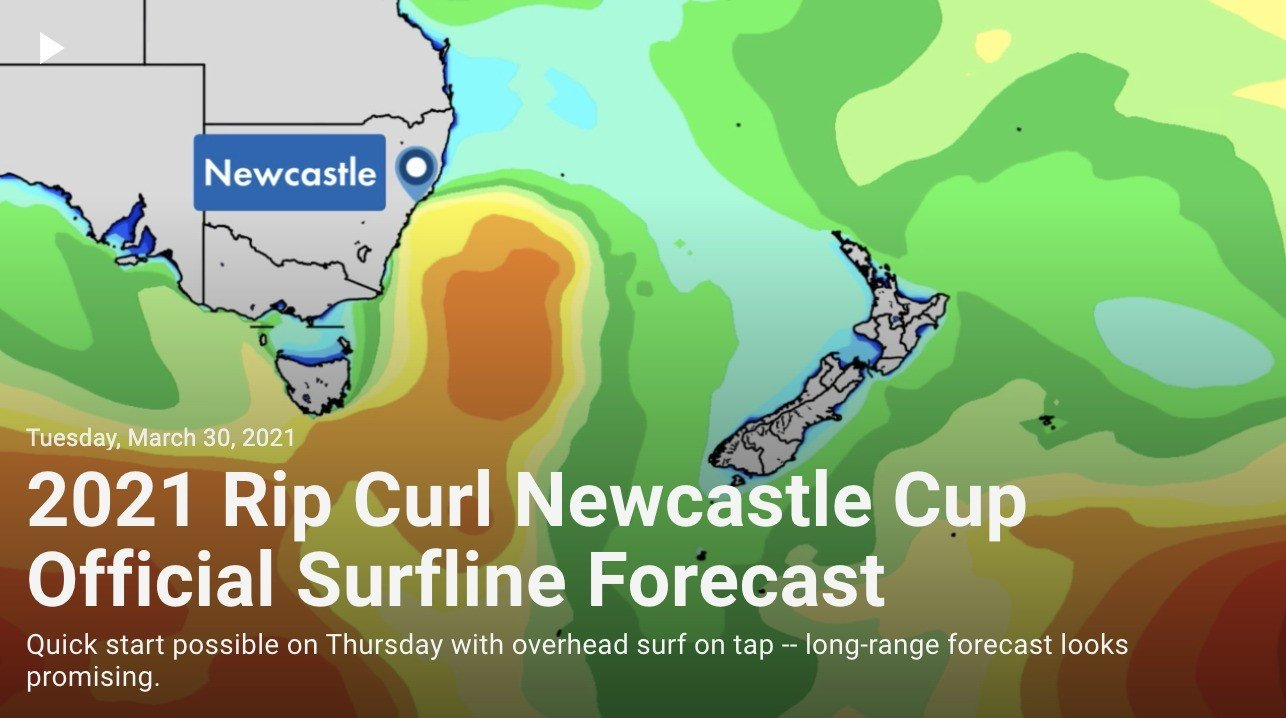 Newcastle pro Official Surf Forecast